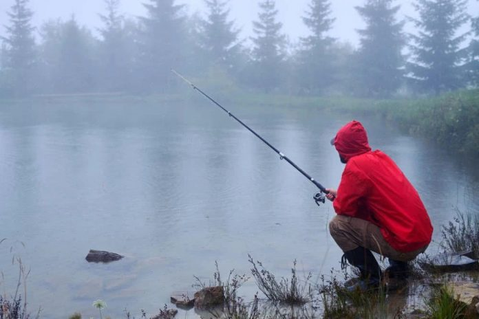 do you catch more fish in the rain
