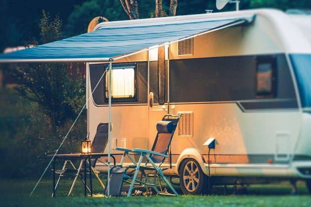 can you live in a camper on your own land