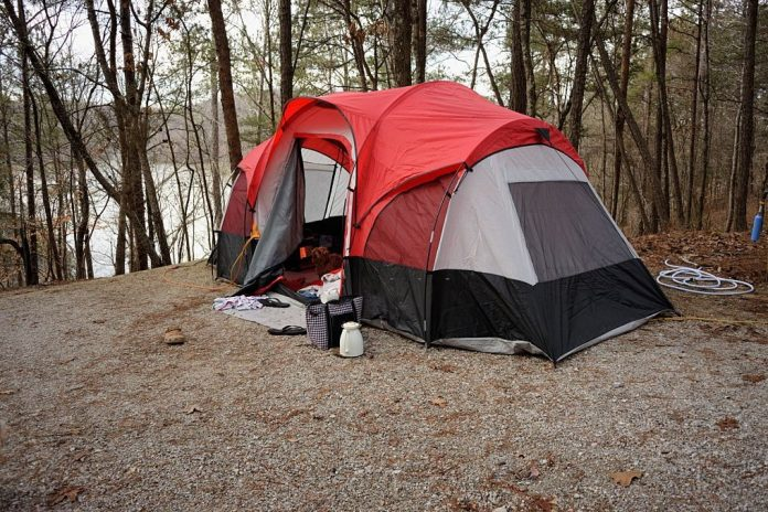 can you use a propane heater in a tent