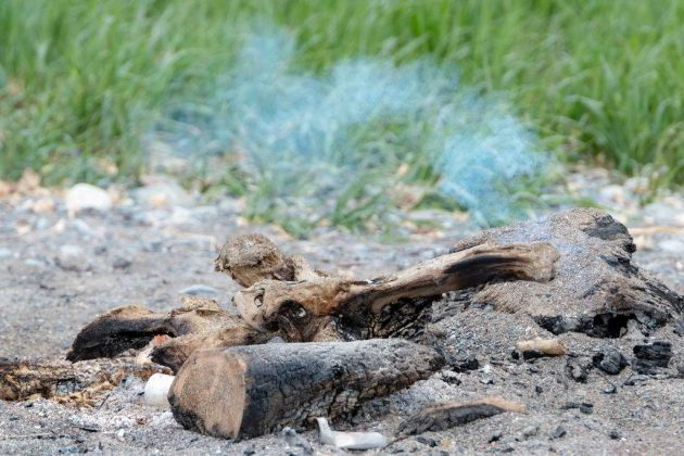 how to put out a fire without water