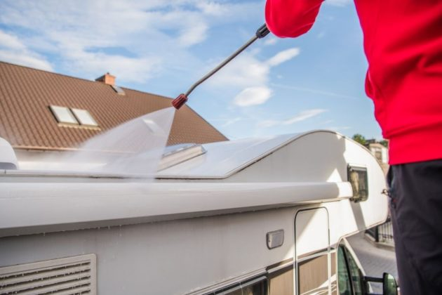 how to remove rv roof sealant