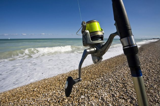 what pound test for surf fishing