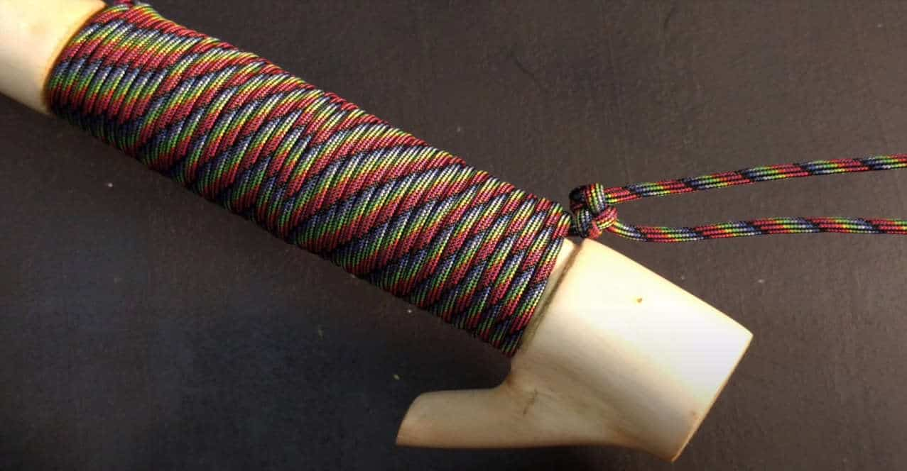 how to make a wrist strap for a walking stick
