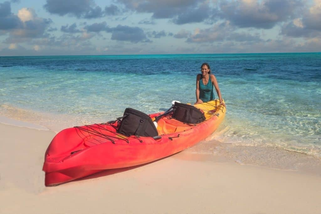 tandem kayak one person use