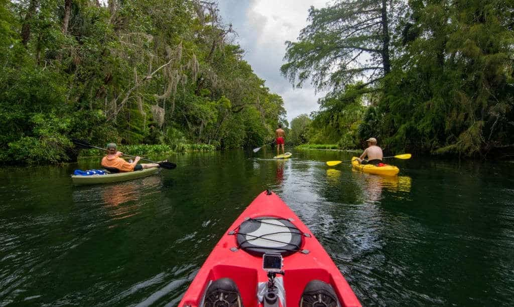 can a sup keep up with a kayak