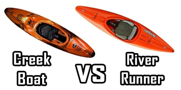 creek boat vs river runner