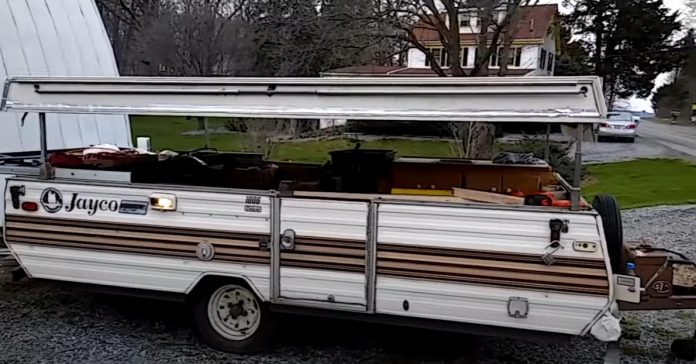 what to do with an old pop up camper