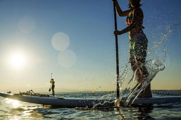 can you lose weight paddle boarding