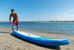 Can You Use an Inflatable Paddle Board in the Ocean?