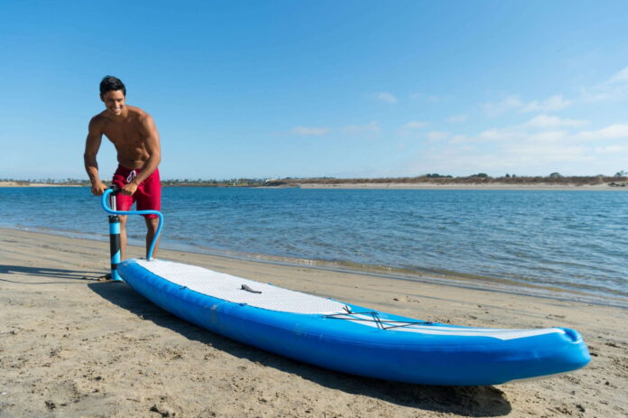 can you use an inflatable paddle board in the ocean