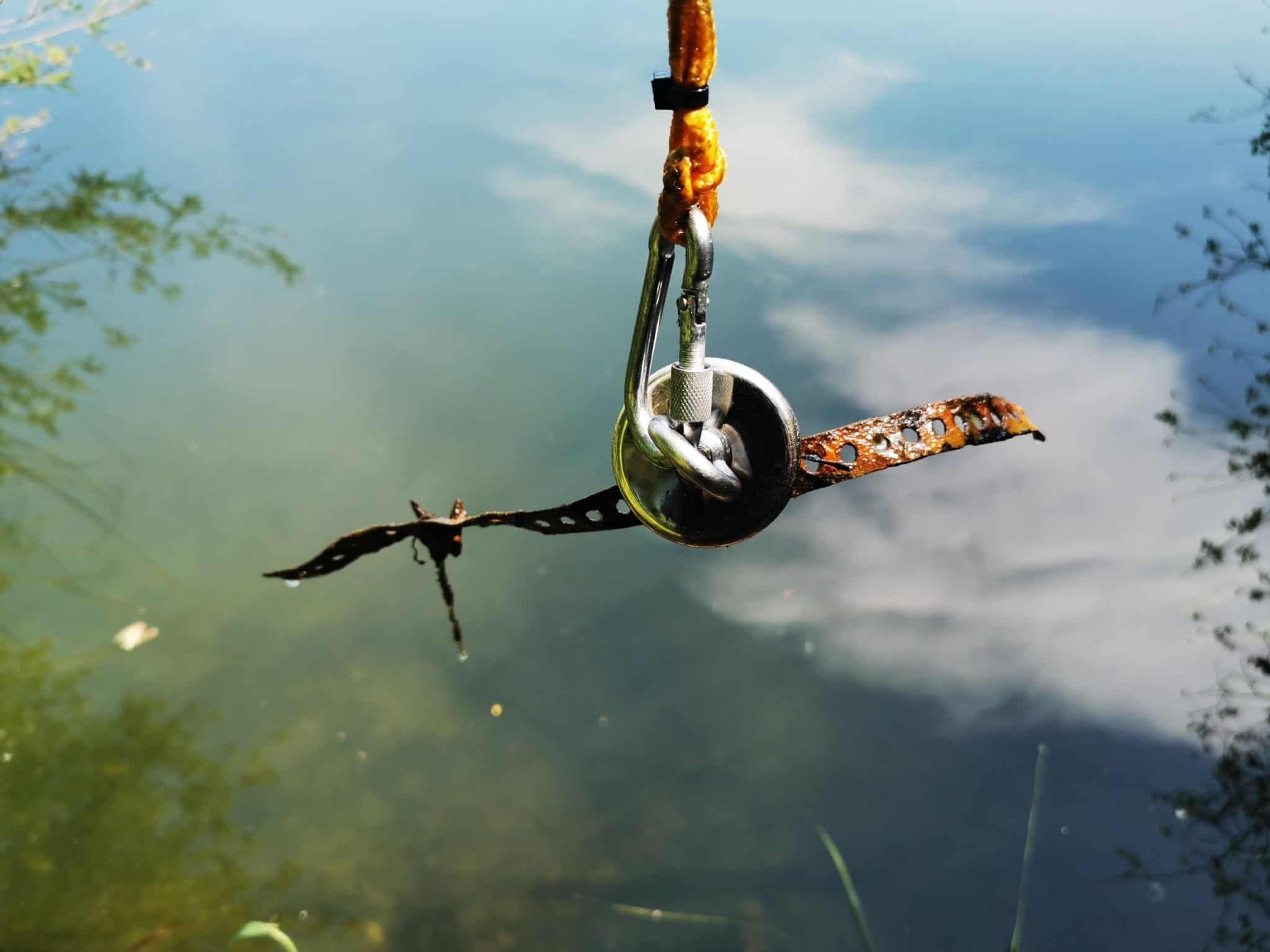 is magnet fishing legal in california