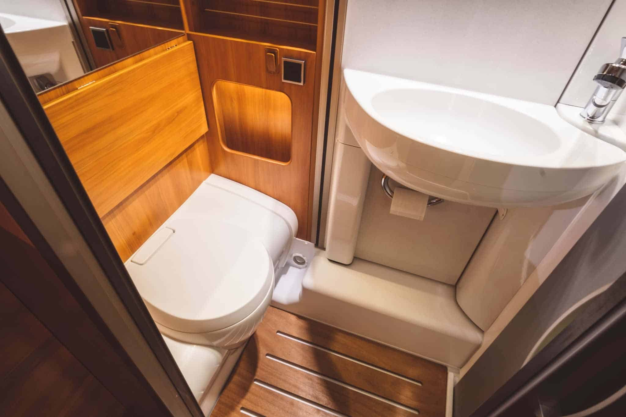 how to replace rv toilet with standard toilet
