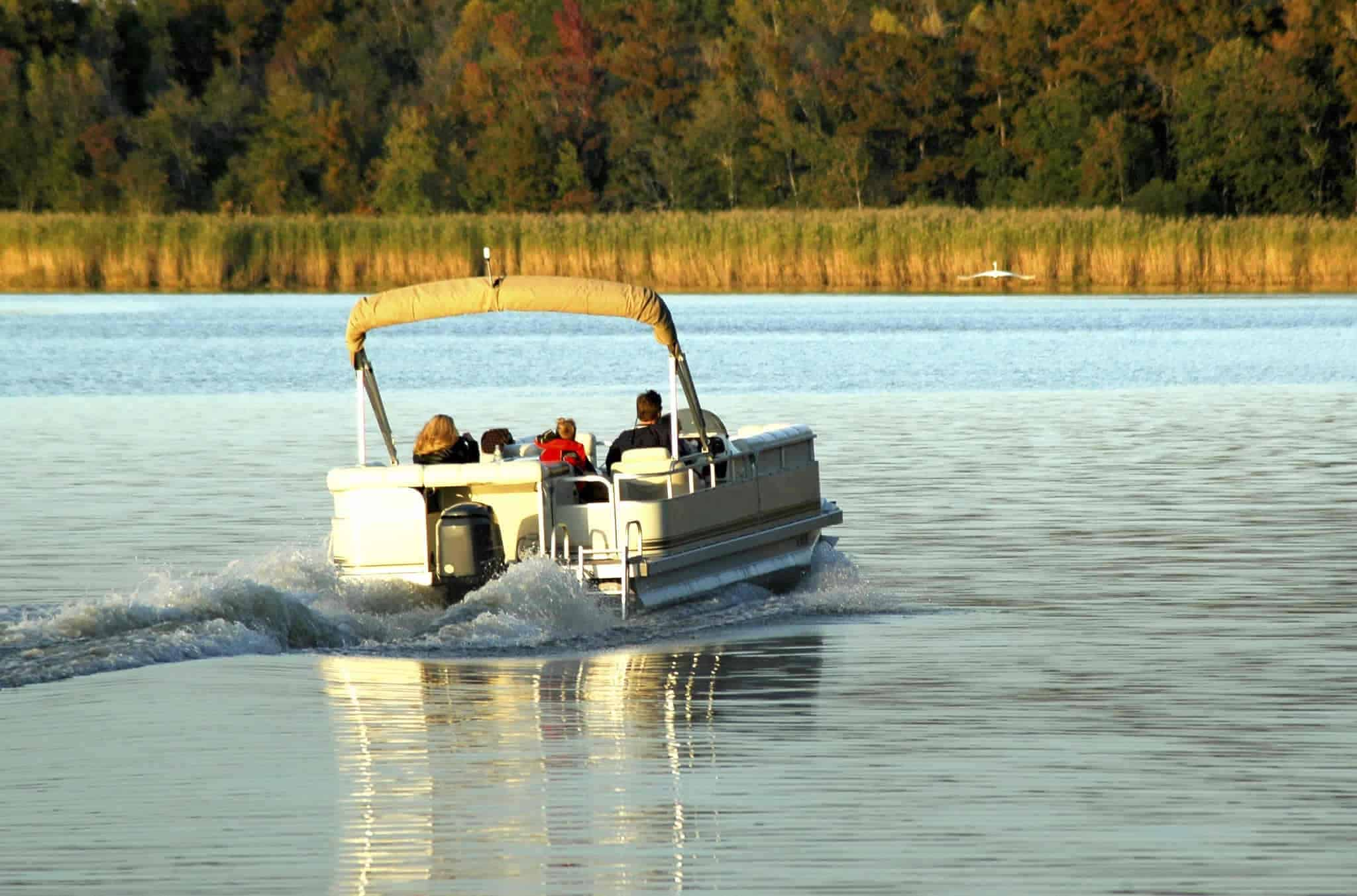 motor size for pontoon boats