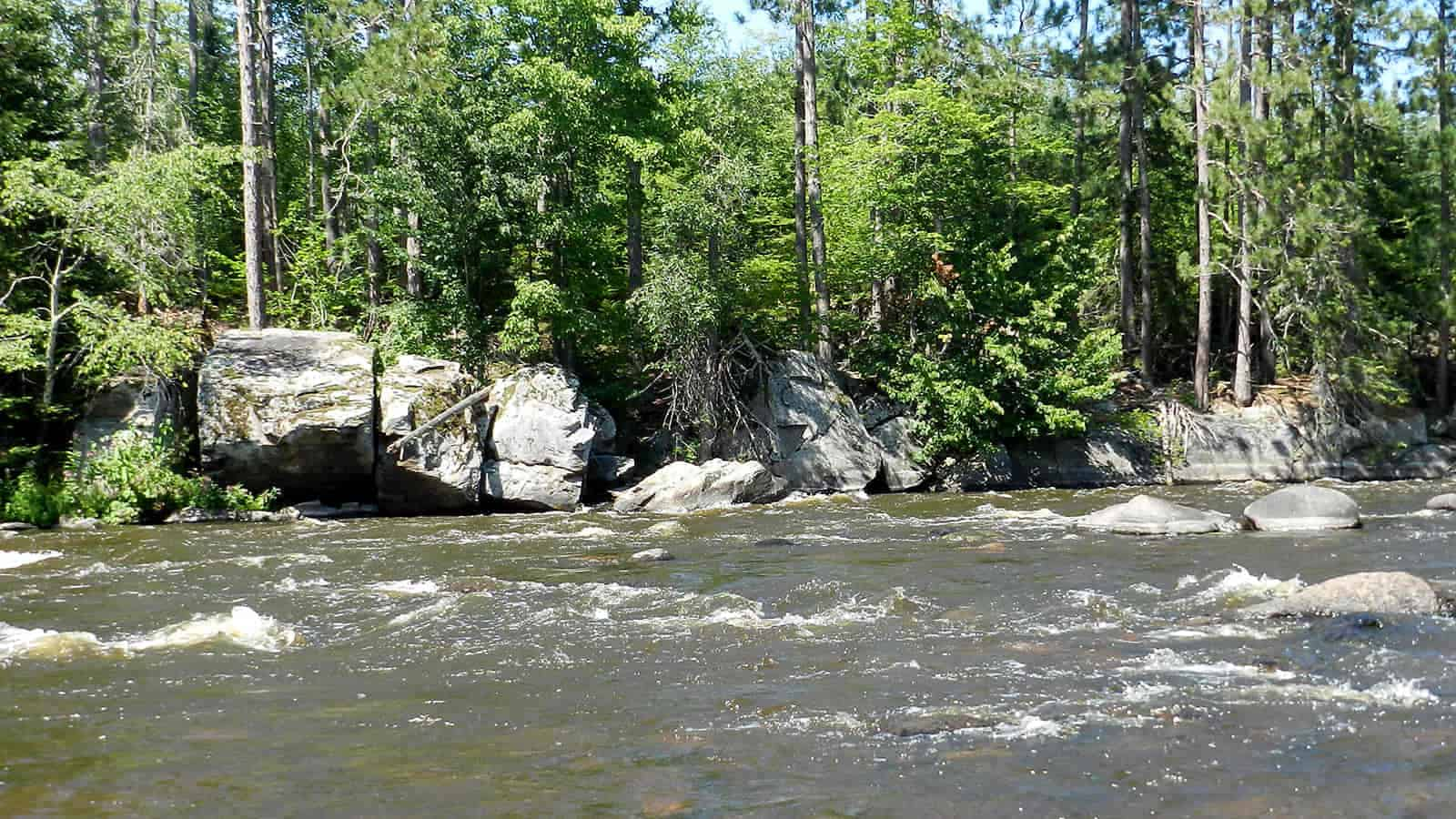 flambeau river (rusk county) - best smallmouth lakes in wisconsin