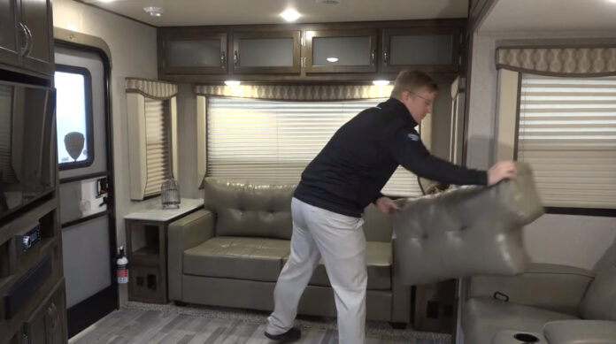 replacing rv couch with recliners