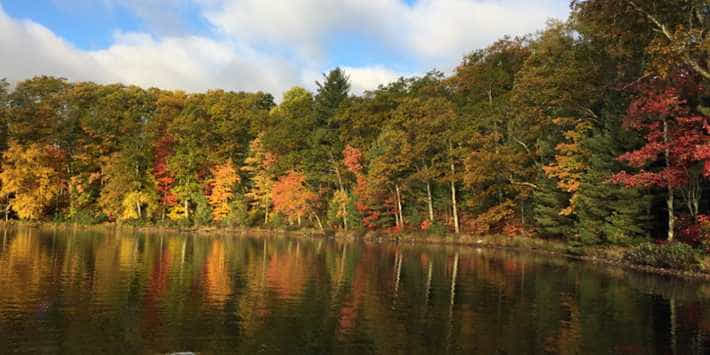 trout lake - best smallmouth lakes in wisconsin