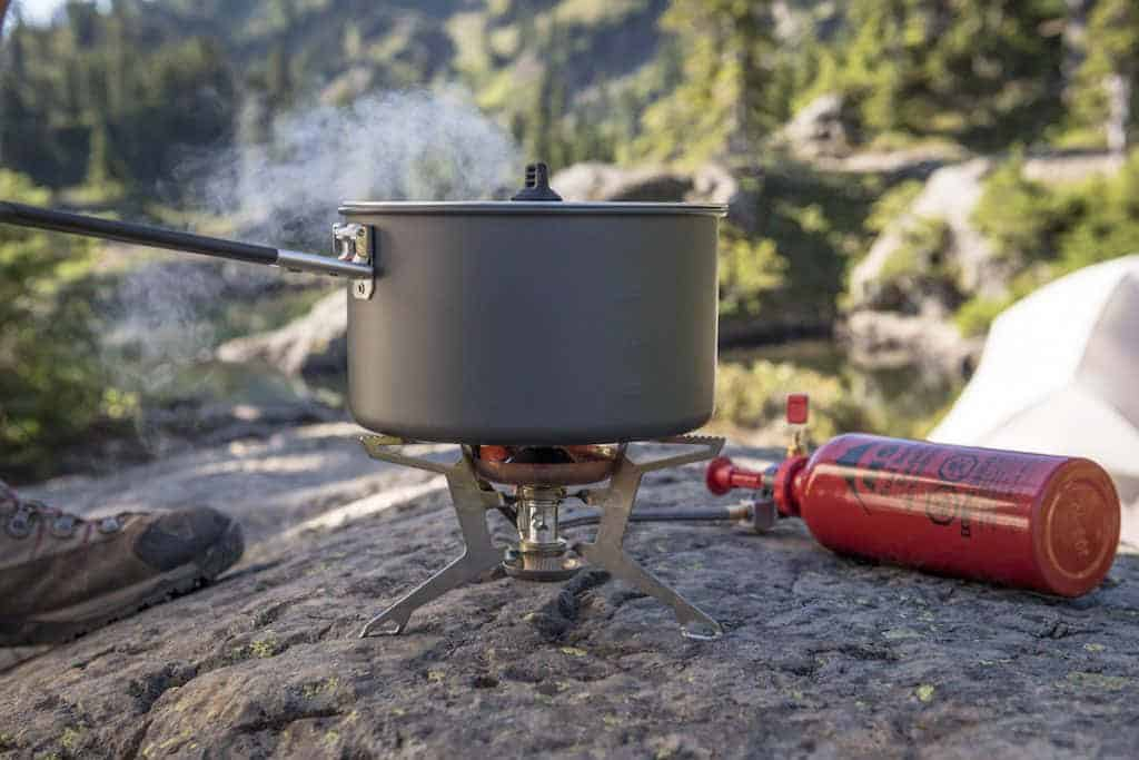 basic safety procedures for using a liquid fuel stove