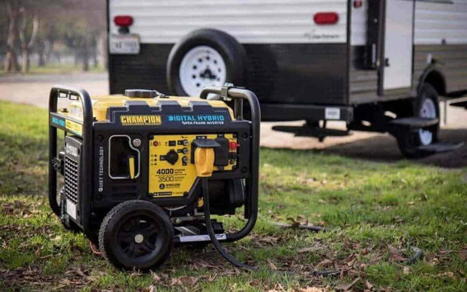charge rv batteries with generator