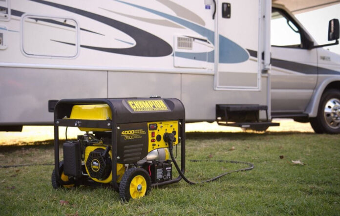 how to charge rv batteries with generator