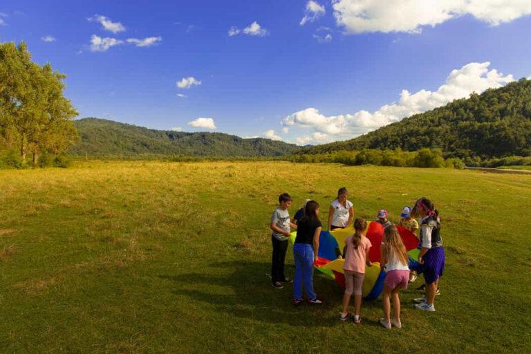 Outdoor Adventures Build Resilience in Children