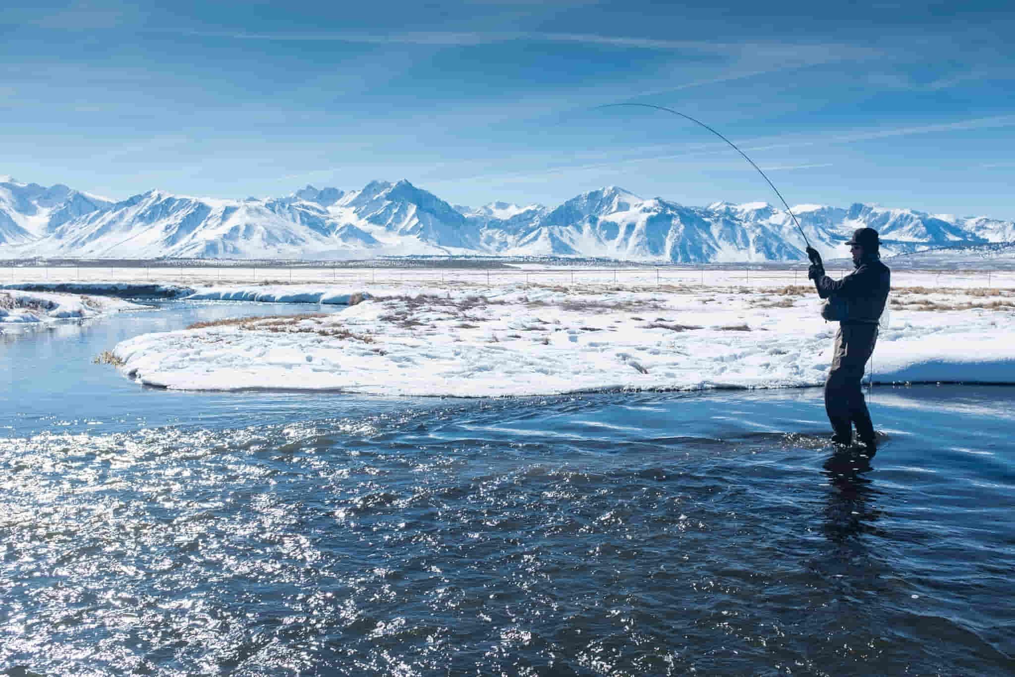 wintertime fishing